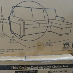 True Innovations Chair Costco Small Chairs For Toddlers Pulaski Newton Chaise Sofa Bed