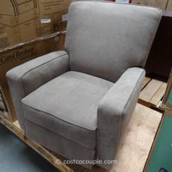 True Innovations Chair Costco Black Resin Patio Chairs Eliza Swivel Glider Recliner