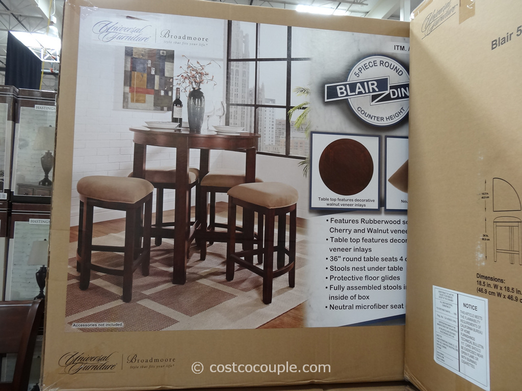 Universal Furniture Blair Counter Height Dining Set