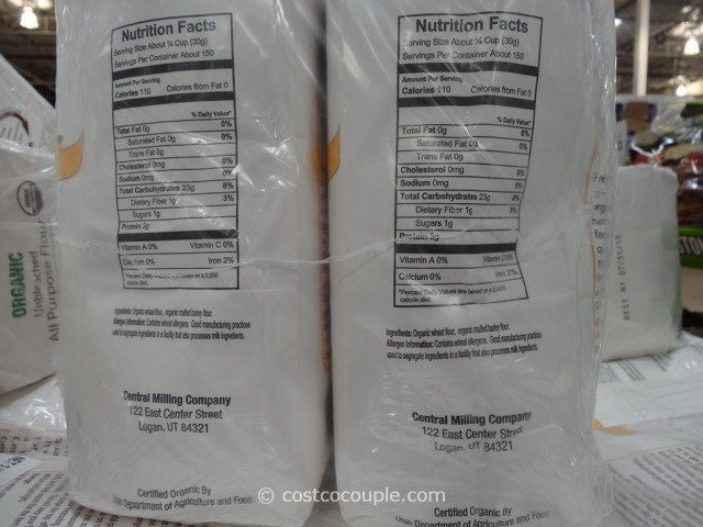 Central Milling Company Organic Unbleached All Purpose Flour