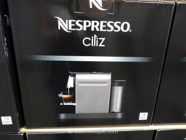 nespresso citiz single serve coffee
