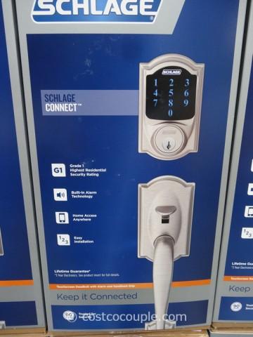 Schlage Lock Company Touchscreen Deadbolt