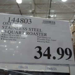 Kitchen Aid Costco Best Rta Cabinets Oster 20-quart Stainless Steel Roaster