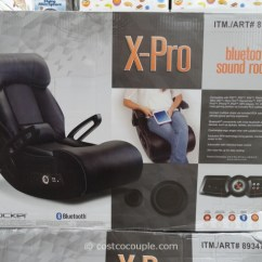 Costco Gaming Chair Hanging Pod Chairs Ace Bayou X-pro Bluetooth Sound Rocker