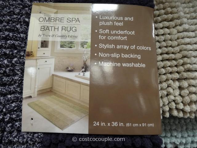 Ombre Spa Bath Rug