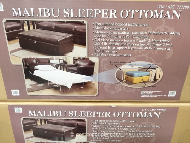 Synergy Malibu Sleeper Ottoman