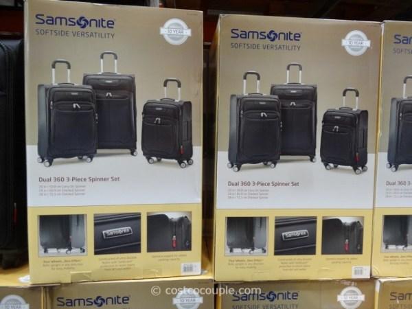 Samsonite 3Piece Softside Spinner Set