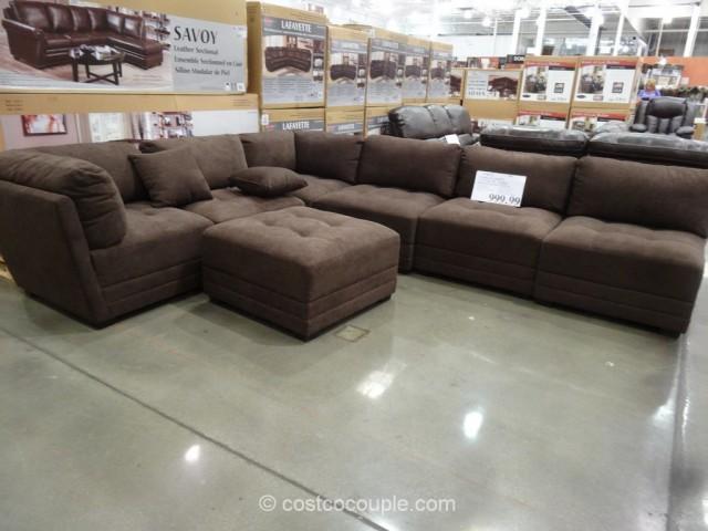 acme sectional sofa chocolate contemporary living room sofas 7 piece mainstays sandhill outdoor ...