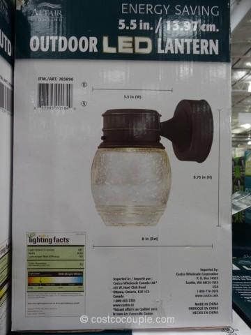 Altair Lighting 7Watt Outdoor LED Lantern