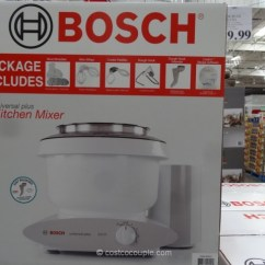 Costco Kitchen Aid Industrial Faucet Bosch Universal Plus Mixer