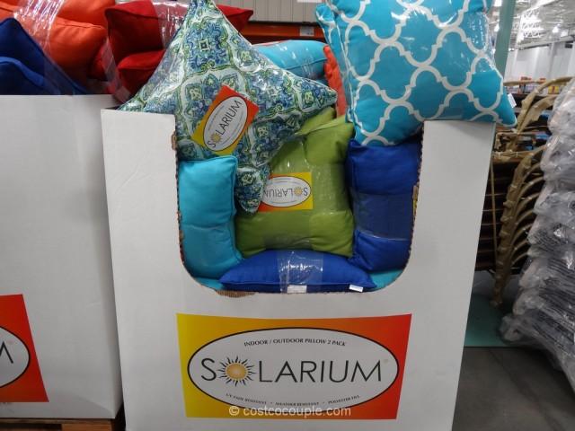 Solarium Indoor Outdoor 2Pack Decorative Pillow Set