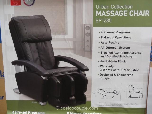shiatsu chair massager high back lawn cushions panasonic urban collection massage ep1285