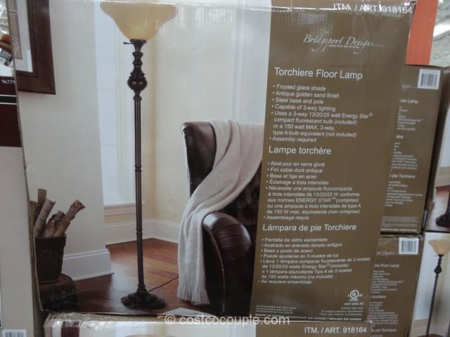 Bridgeport Designs Torchiere Floor Lamp