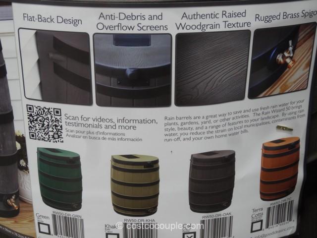 Good Ideas 50 Gallon Rain Barrel