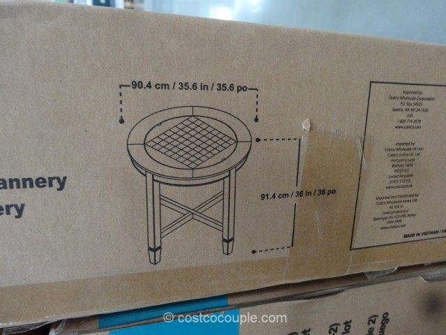 costco dining table and chairs desk chair small universal furniture flannery set
