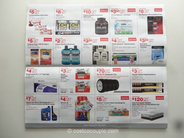 costco kitchen moen faucet with pull out sprayer august 2015 coupon book 08/06/15 to 08/30/15