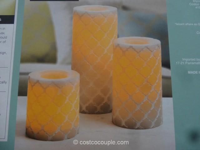 Flameless LED Wax Candle Set