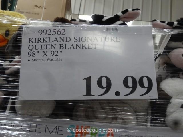costco sofa pet bed karlstad metal legs kirkland signature queen blanket