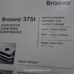 Microfiber Sofa Bed Harveys Beds Uk Irobot Braava 375t Floor Mopping Robot