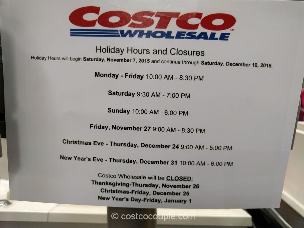 Costco Hours
