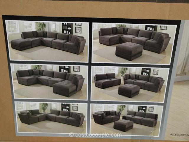 6Piece Modular Fabric Sectional