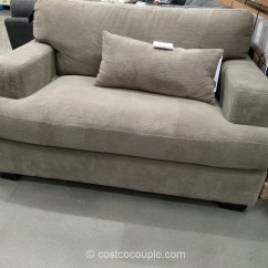 Chaise Sofa With Ottoman Costco Pull Out Bed Philippines Sleeper Synergy Malibu