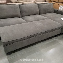Chaise Sofa With Ottoman Costco Are Polyurethane Sofas Safe Pulaski Newton Bed