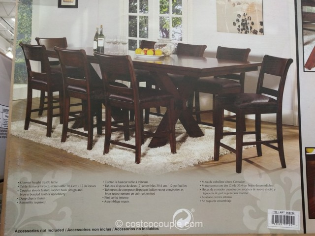Hillsdale Furniture 9Piece Counter Height Dining Set