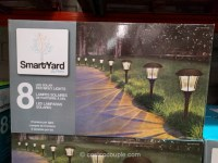 SmartYard LED Solar Pathway Lights