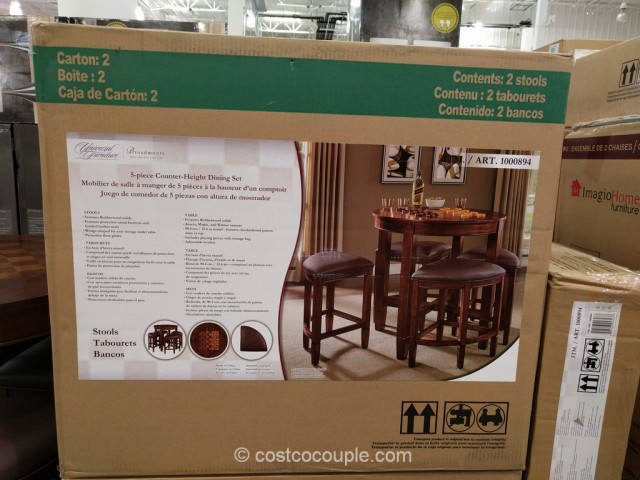 Universal Furniture 5Piece Counter Height Dining Set