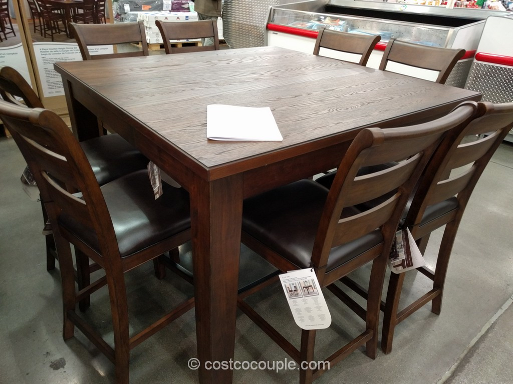 costco dining chairs how to repair patio pulaski furniture ethan hall chest