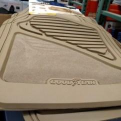 Sleeper Sofa Black Ethan Allen Leather Goodyear 4-piece Car Mat Set
