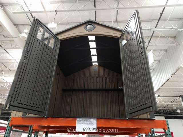 Lifetime Products Storage Shed