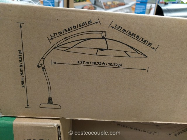 Proshade Parasol Cantilever Umbrella