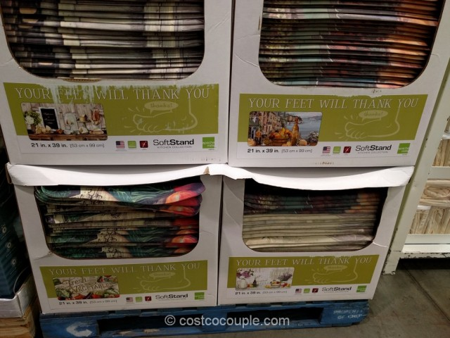 costco kitchen mat large trash can soft stand 2