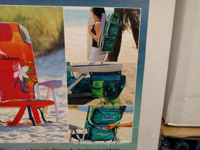 costco beach chairs plastic chair with oak legs tommy bahama backpack