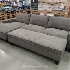 Chaise Sofa With Ottoman Costco Multi Purpose Design Furniture And Decor