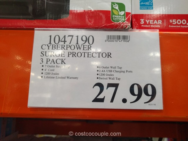 CyberPower Surge Protector Pack