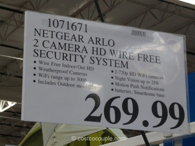 Wireless Costco Security Cameras
