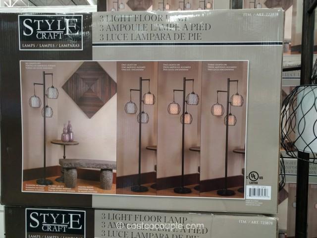 Stylecraft 3Light Floor Lamp