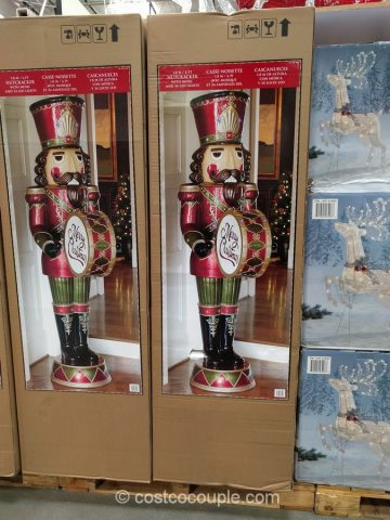 Nutcracker with Music and LED Lights