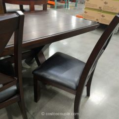Costco Dining Table And Chairs Youth Chair Bayside Furnishings 9-piece Set