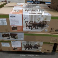 5 Piece Kitchen Table Set Commercial Hood Bayside Furnishings 9-piece Dining