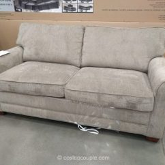 Mckinley Leather Sofa Costco Modern Vintage Synergy Home Sleeper