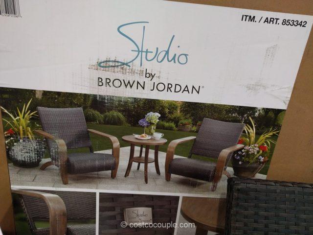Brown Jordan 3Piece Adirondack Set