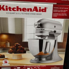 Costco Kitchen Aid Cabinets On Line Kitchenaid 4 5 Qt Stand Mixer