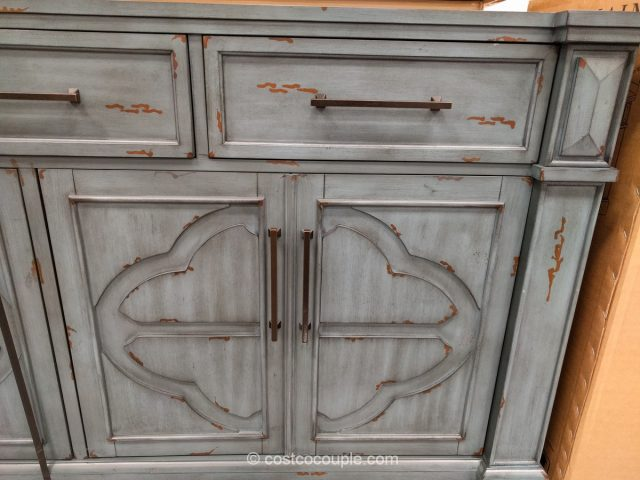 Distressed Accent Cabinet
