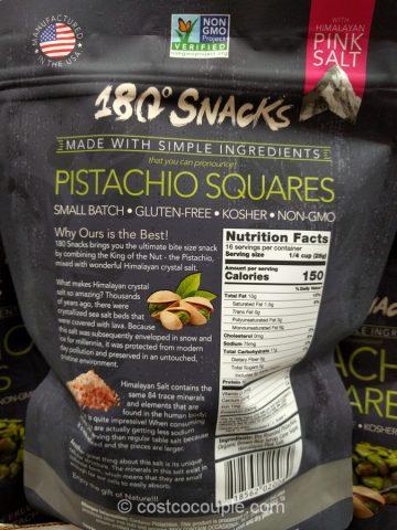 180 Snacks Pistachio Squares