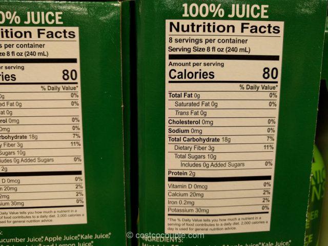 Kirkland Signature Organic Green Juice