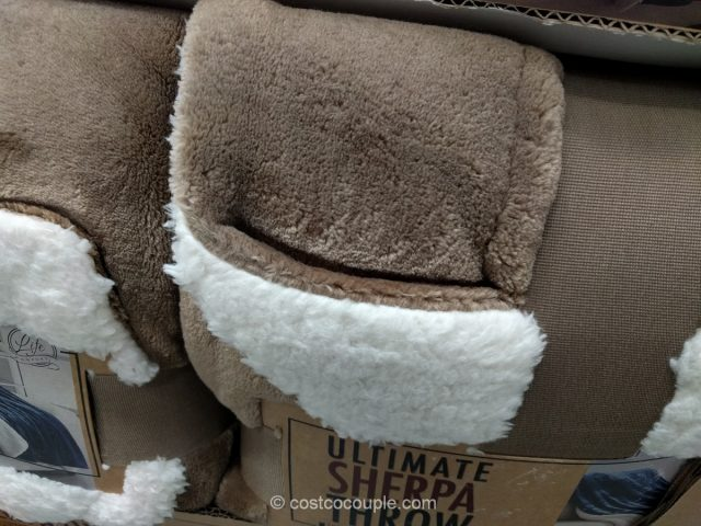 Life Comfort Ultimate Sherpa Throw 2017